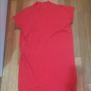 Red vintage short sleeve Escada mini dress